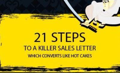 21 Steps to a Killer Sales Letter